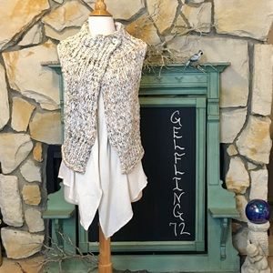 Anthropologie Knitted & Knotted Sweater Vest